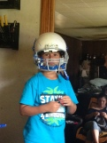 Football Helmets for the boys