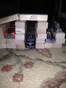 Jenga Garage!