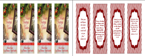 Bookmarks Thumbnails